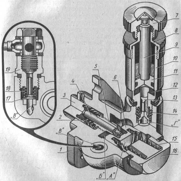 Подкачивающий насос МТЗ-80, МТЗ-82