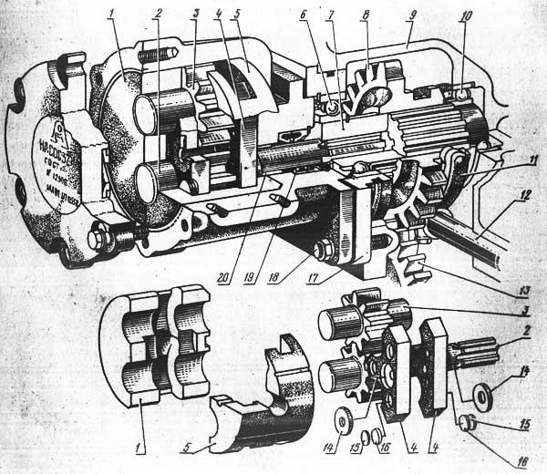 Масляный насос НШ-32-2