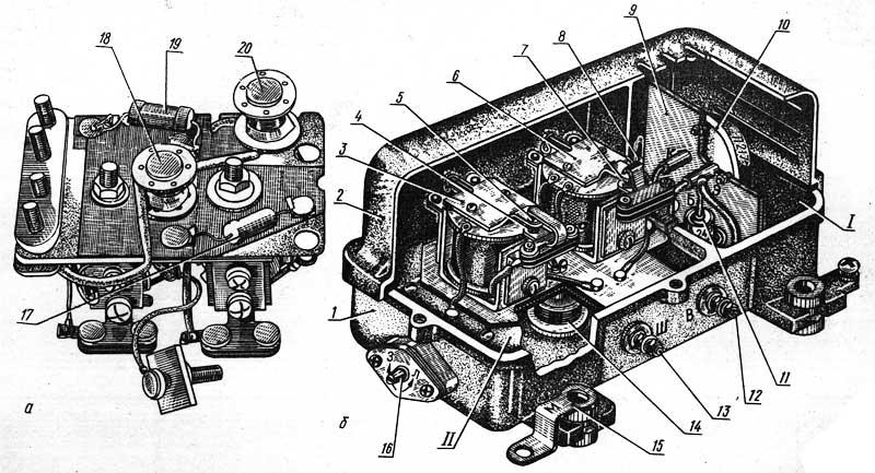 Реле-регулятор РР362-Б