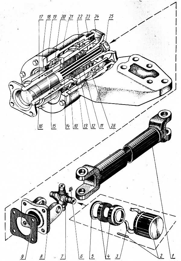 Крестовина кардана МТЗ -82 72-2203025: продажа, цена в.