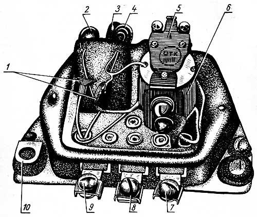 схема реле 80 бензонасоса